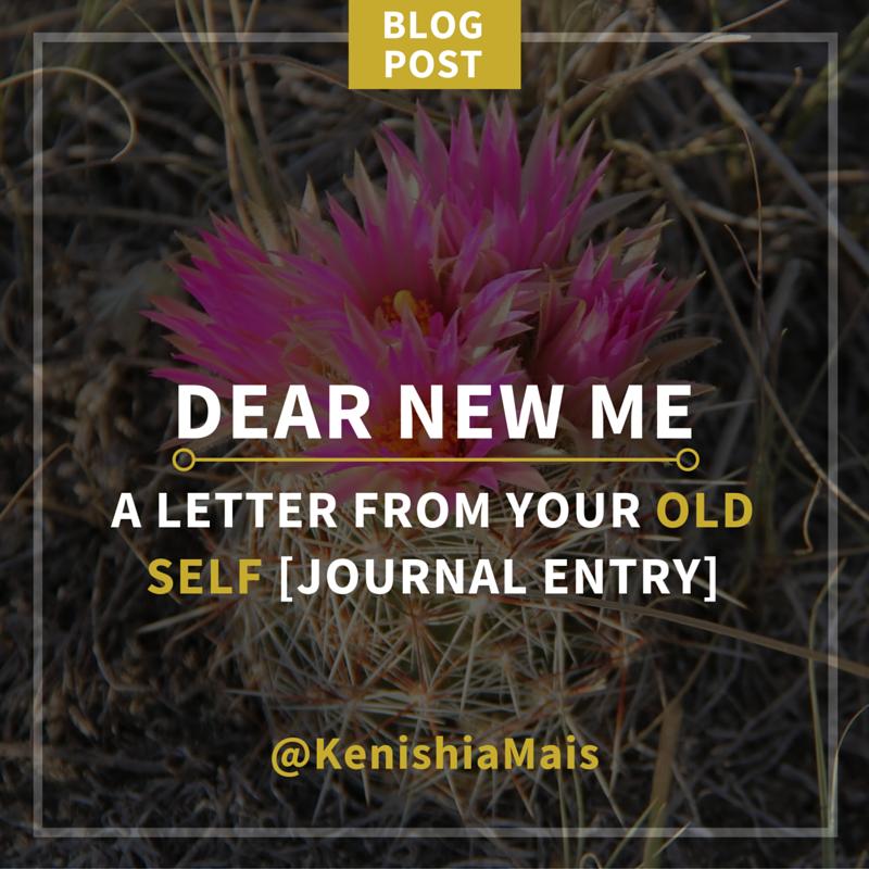 Dear New Me...