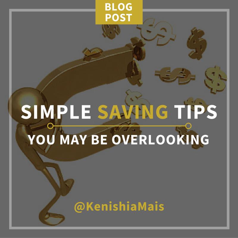 Simple Saving Tips