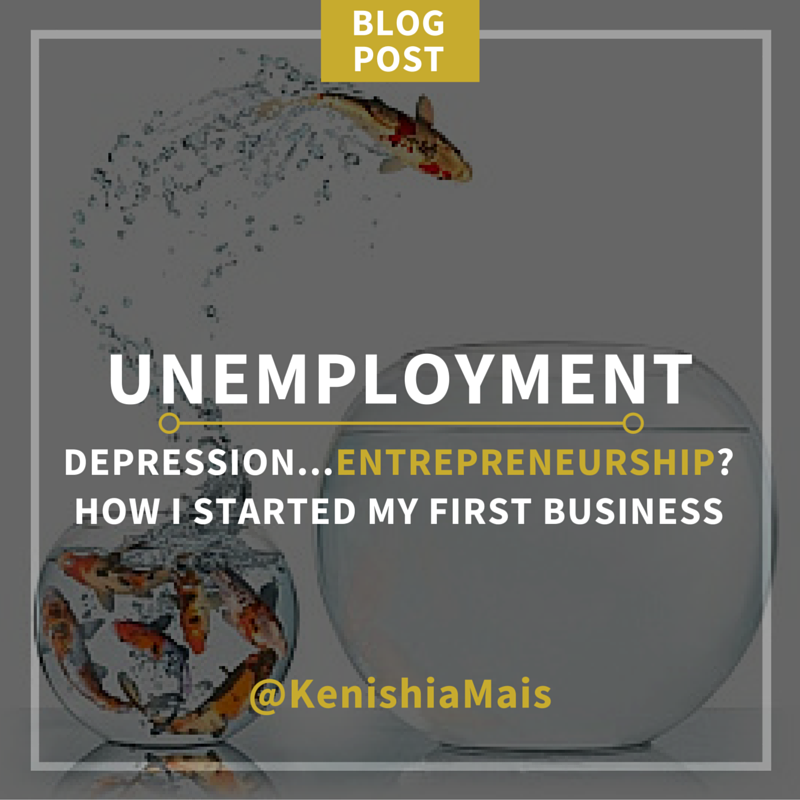 Unemployment, Depression, Entrepreneurship